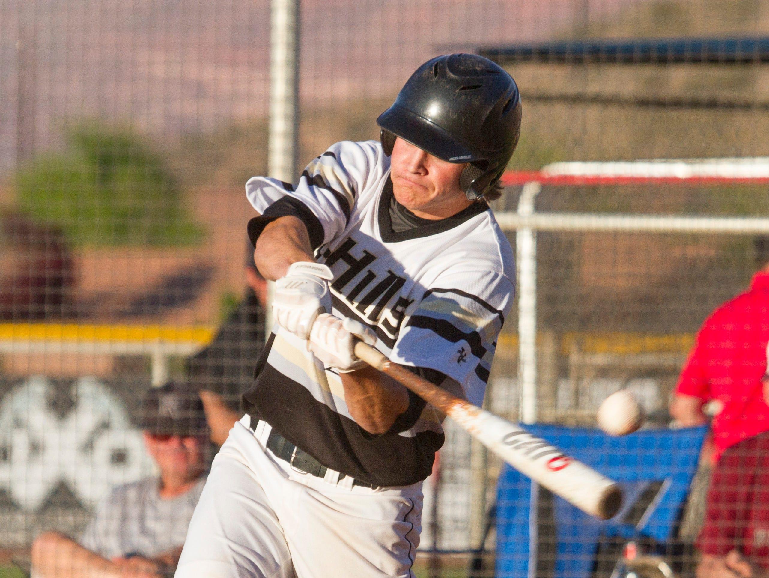 Desert Hills baseball hosts Pine View Tuesday, May 3, 2016.