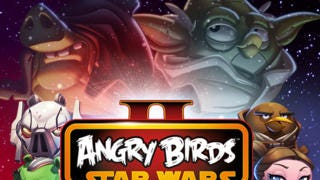 A screenshot from 'Angry Birds Star Wars'