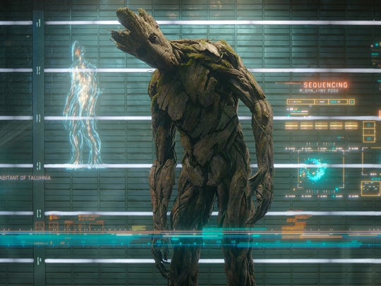 He is Groot: The character as seen in the original