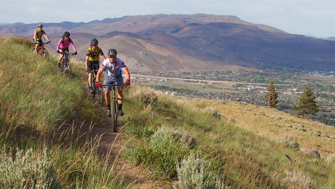 Epic Rides announced Wednesday it will be bringing off-road mountain bike races to Carson City in June. The 15-, 35- and 45-mile courses will include Kings Canyon, Ash Canyon, Marlette Lake and the Tahoe Rim Trail.