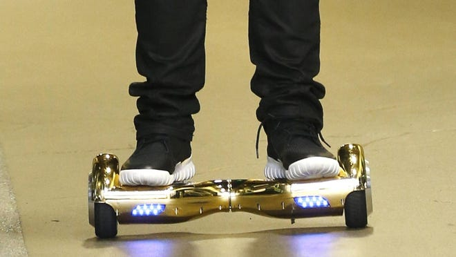 UL Lafayette announces it is banning students from using self-balancing two wheeled scooters, also known as Hoverboards, on campus and campus-run housing.
