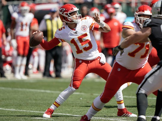 The Lions host Patrick Mahomes and the Kansas City Chiefs at Ford Field next Sunday.