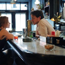 """Jessica Chastain and James McAvoy in a scene from """"The Disappearance of Eleanor Rigby: Them."""""""