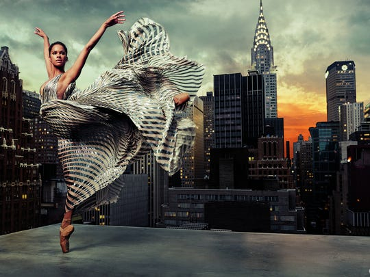 Misty Copeland in 'Glamour'