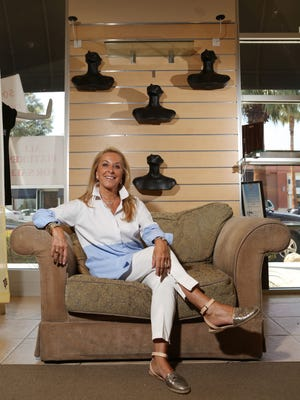Storeowner Danielle Cukier is retiring and closing her doors to the El Paseo store Dani C in a few weeks. Cukier was photographed at the Palm Desert store on Wednesday.