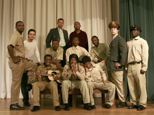 """""""A Soldier's Play"""" performed by Extensions of Excellence used a mixed-race cast."""