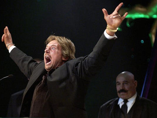 """""""Rowdy"""" Roddy Piper died Friday at the age of 61."""
