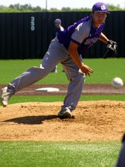 Clay Botello of Jacksboro was the District 8-3A Most