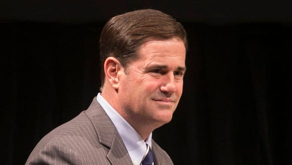 Doug Ducey proposes: