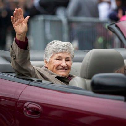 RETURN DAY: Former Delaware Governor Ruth Ann Minner