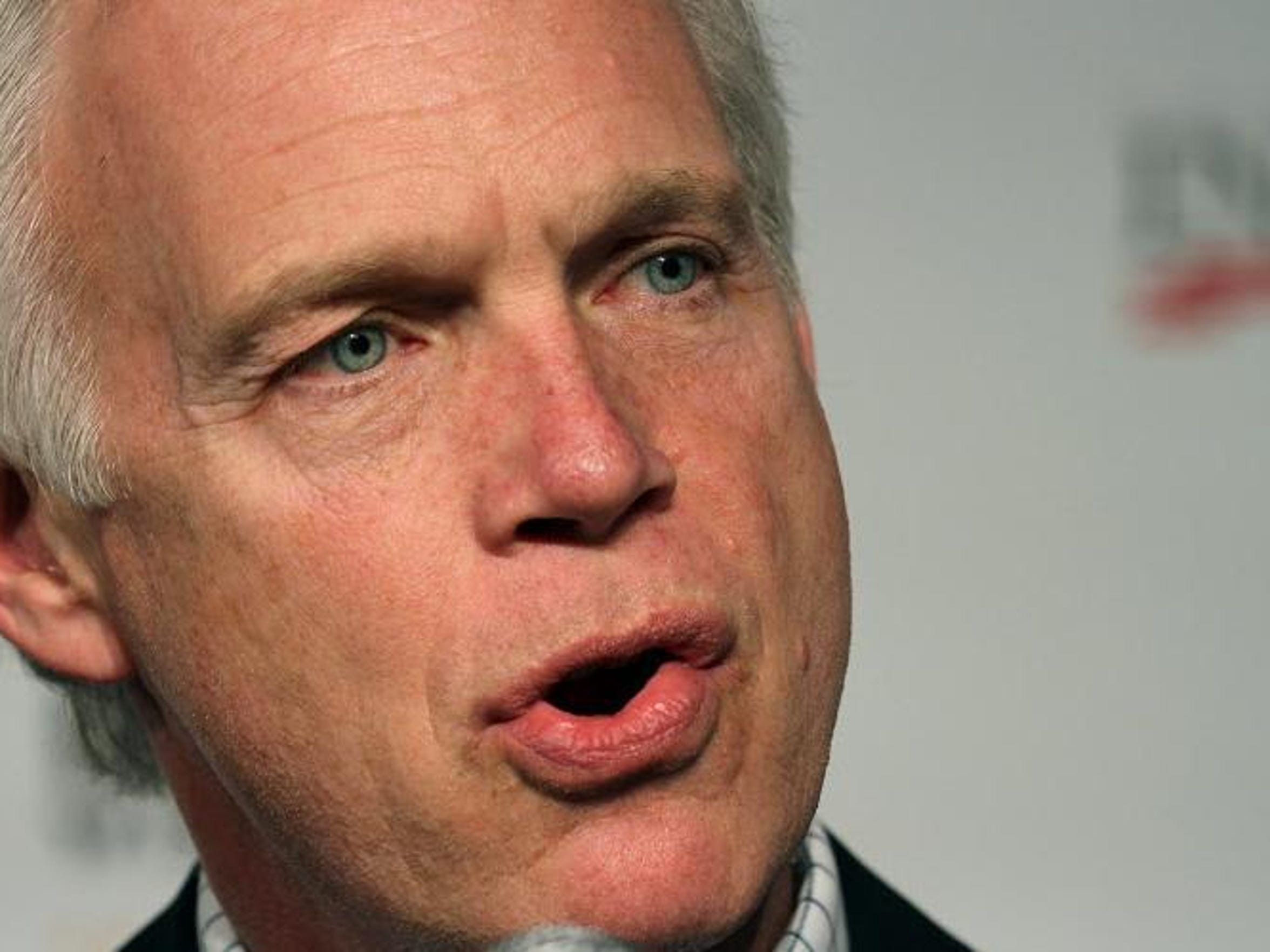 """""""The election interference ... is not the greatest threat to our democracy. We've blown it way out of proportion,"""" Sen. Ron Johnson told the Washington Examiner."""