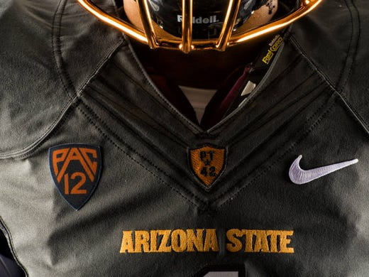 ASU unveiled a new  Desert Fuel  uniform option on Aug. 18 afcc6ffe5