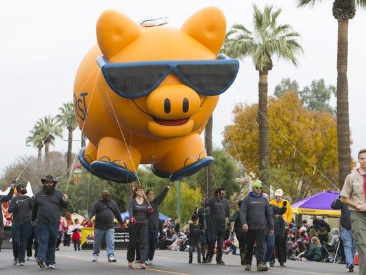 Fiesta Bowl Parade 2016