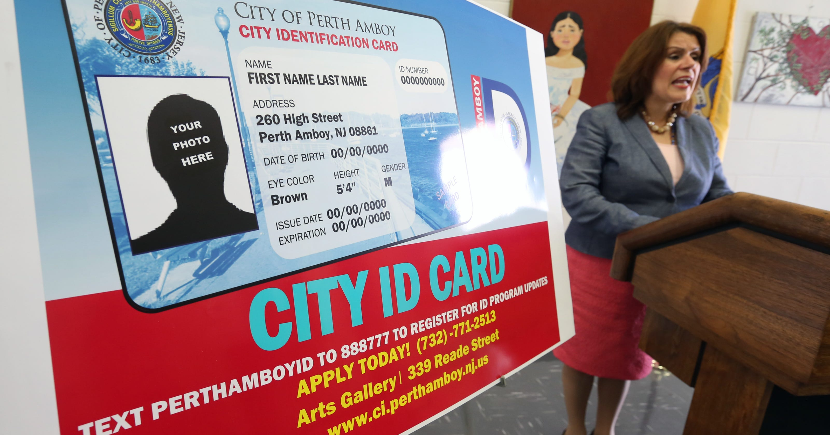 Watch perth amboy id card program set to launch reheart Image collections
