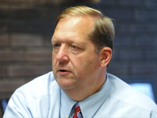 Clarkstown Supervisor George Hoehmann says all five