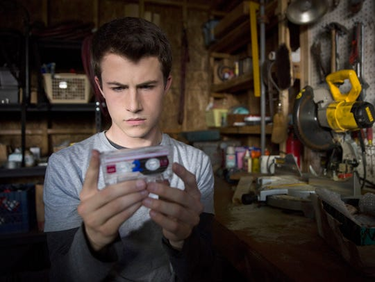 "Dylan Minnette as Clay Jensen in ""13 Reasons Why."""