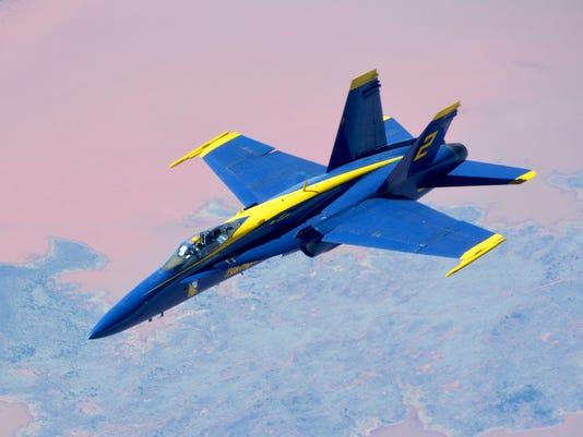 507th ARW refuels Blue Angels
