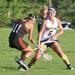 Amber Crouse was a standout at Hartland, setting a state record for assists in a game. She will be part of CMU's first women's lacrosse team in 2015.