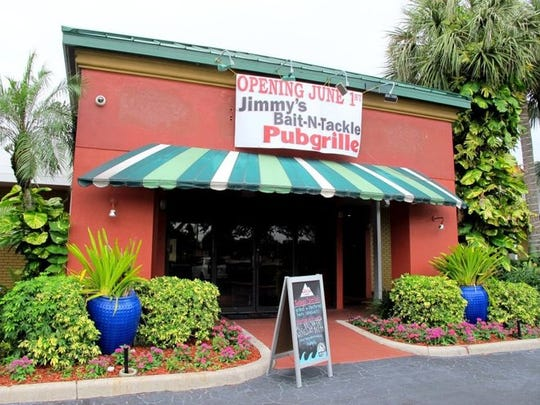 Jimmy's Bait-N-Tackle Pubgrille opened June 1 in Naples.