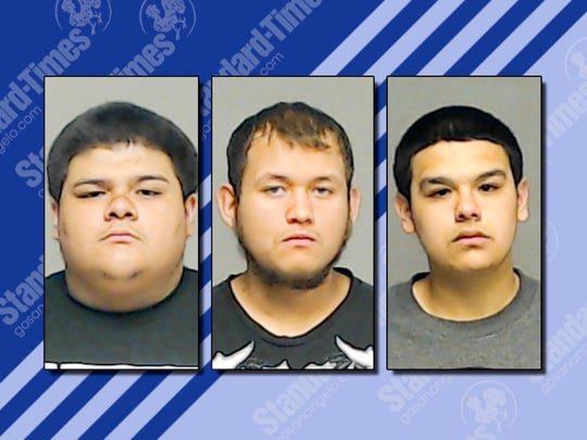 The three suspects all 18 years old are accused in
