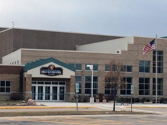 Horace Mann High School facade.JPG