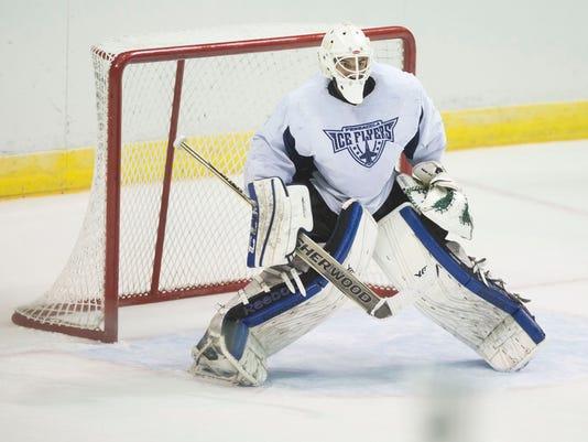 Ice Flyers Practice