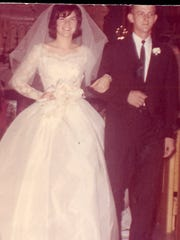 Mr. and Mrs. Charles Satcher -- 1964