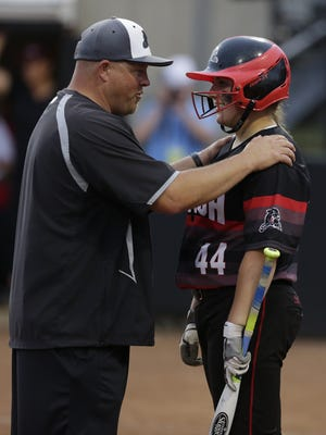 SPASH coach Tom Drohner and Payton Gaber hope to be talking about the school's ninth Division 1 state championship on Saturday night.