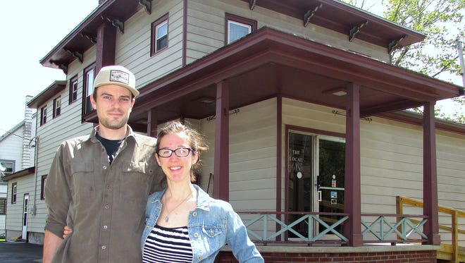 Ian Montgomery and Emily Marcellus converted a former chiropractic office on South Franklin Street in Watkins Glen into a new hostel.