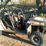 A Scenic homeowner reported a burglary last week, and this 2013 Polaris Razor ATV was one of the missing items.