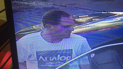 Southern Regional Police want to identify this man in connection with an officer struck in Glen Rock.