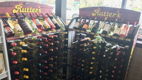 Rutter's began wine sales at its Newberry Township store recently. It is the first Rutter's location statewide to do so.