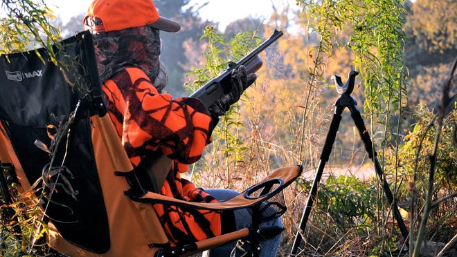 There will be even more orange than usual this weekend as Wisconsin's annual two-day youth gun deer hunt gets under way.