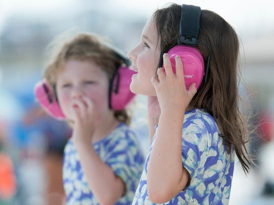 TIP: Be sure the little ones have ear protection.