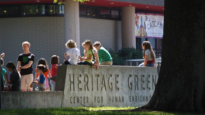 Heritage Green was officially named in 1974.