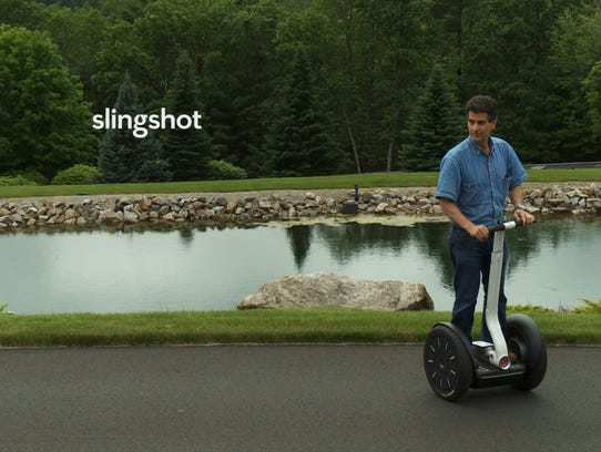 """SlingShot"" tells the story of Segway inventor Dean"
