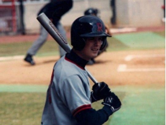 Doug Alongi played baseball at Rutgers University in the early 1990s.