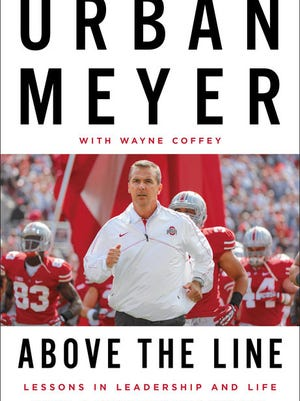 Ohio State coach Urban Meyer has a new book coming out this month.