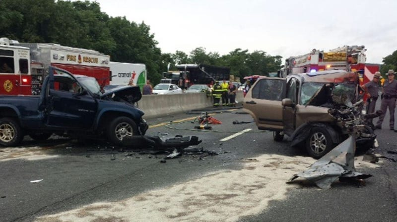 Wrong-way crash: NYPD officer's family members 'want to know