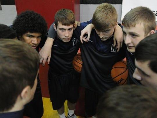 The 2014-15 Reitz High School boys' basketball team