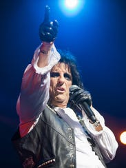 Alice Cooper performs at Ak-Chin Pavilion in Phoenix,