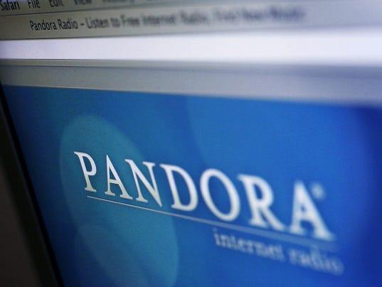 Goldman sings Pandora's praises