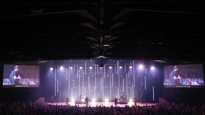 Christ's Church of the Valley is among the largest churches nationwide. Its Peoria location has an auditoriumthat seats 3,600 people.