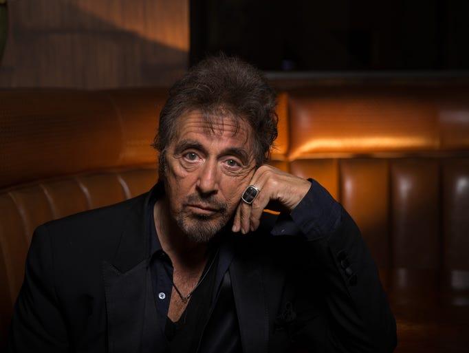 Actor and director Al Pacino at 75 Al Pacino