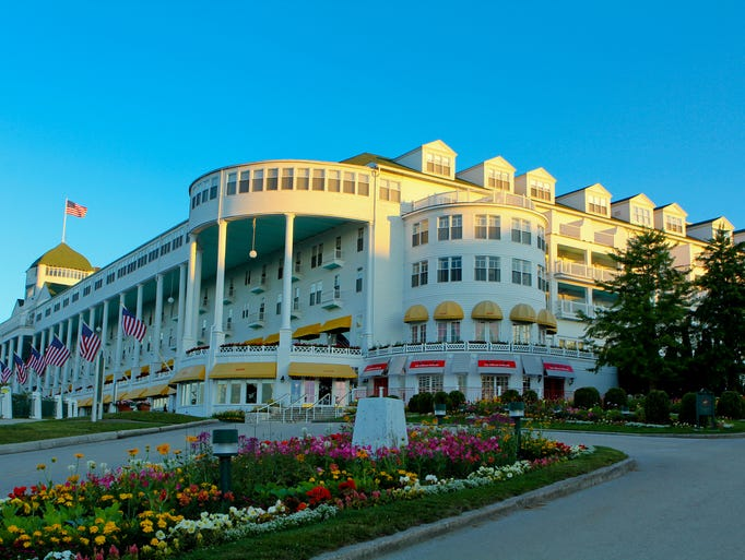 The Grand Hotel on Mackinac Island features some new