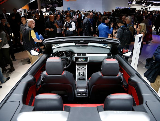 New Hot New Cars Revealed At Los Angeles Auto Show