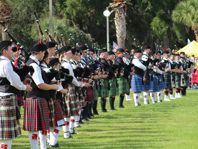 The 39th annual Central Florida Scottish Highland Games