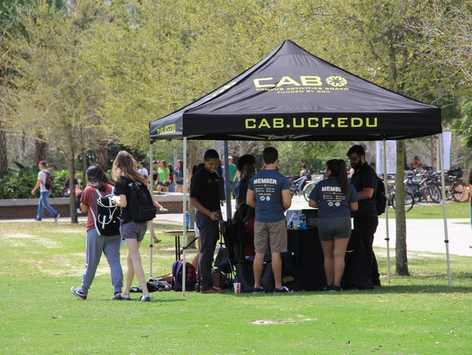 CAB hosted CAB Fest on March 17 at Memory Mall. Students