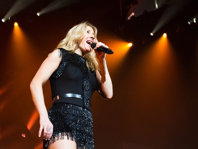 Ellie Goulding, an English singer and songwriter, played