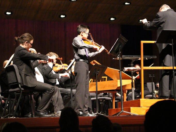 The Sheboygan Symphony Orchestra held a concert Wednesday